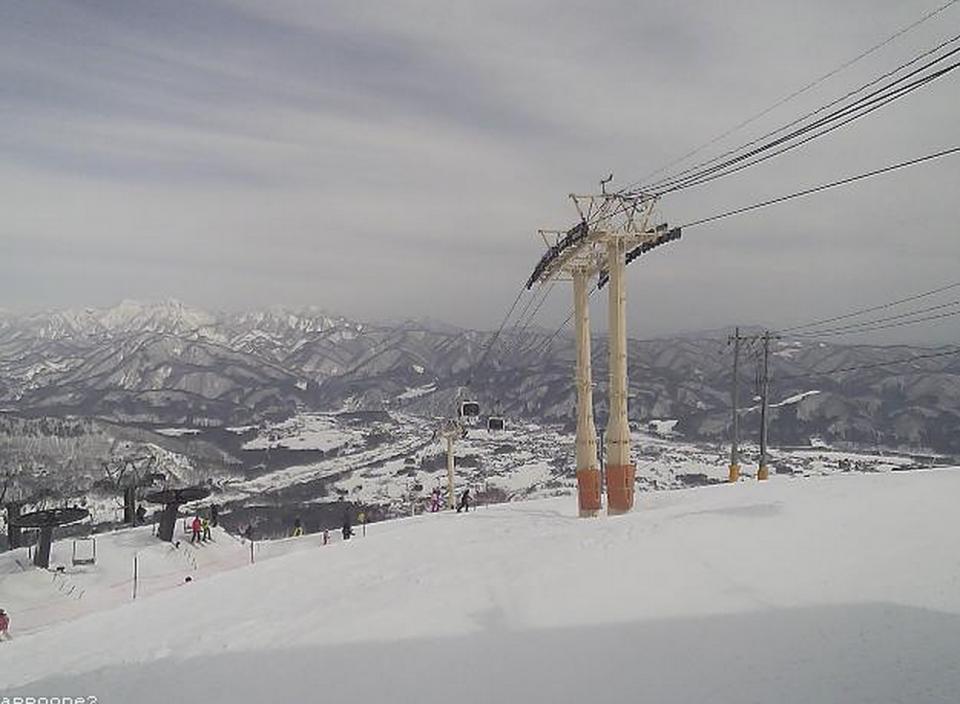 白馬八方尾根スキー場ライブカメラと雨雲レーダー/長野県白馬村