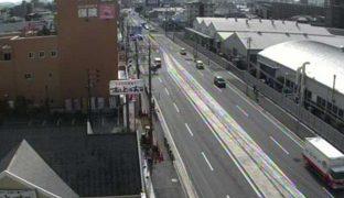 国道419・153号・301号・248号や各高速道路の掲示板ライブカメラ(11ヶ所)と気象レーダー/愛知県