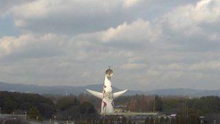 万博記念公園 太陽の塔 ライブカメラと雨雲レーダー/大阪府吹田市