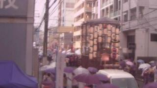 祇園祭り・四条西洞院上蟷螂山町付近がみえるライブカメラと気象レーダー/京都府中京区