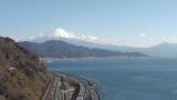 薩埵峠・広重の富士山ライブカメラと気象レーダー/静岡県静岡市