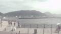 下関から見た関門海峡ライブカメラと気象レーダー/山口県下関市