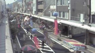 停止中:信州上田七夕まつりライブカメラと雨雲レーダー/長野県上田市