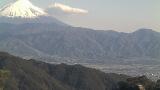 甲府盆地と富士山ライブカメラと気象レーダー/山梨県甲府市