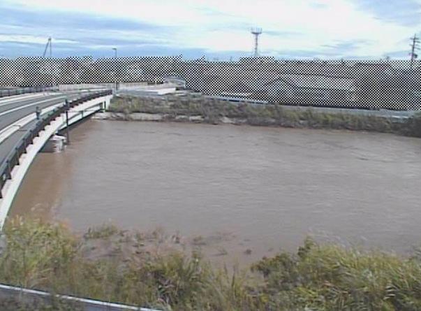 勝間田川・深谷橋周辺ライブカメラと雨雲レーダー/静岡県牧之原市
