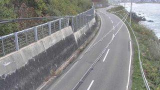 国道279号 はまなすラインライブカメラと雨雲レーダー/青森県風間浦村