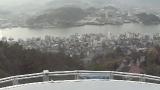 尾道水道ライブカメラ(千光寺より)と気象レーダー/広島県尾道市