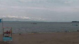 停止中:三浦海岸海水浴場 ライブカメラと雨雲レーダー/神奈川県三浦市