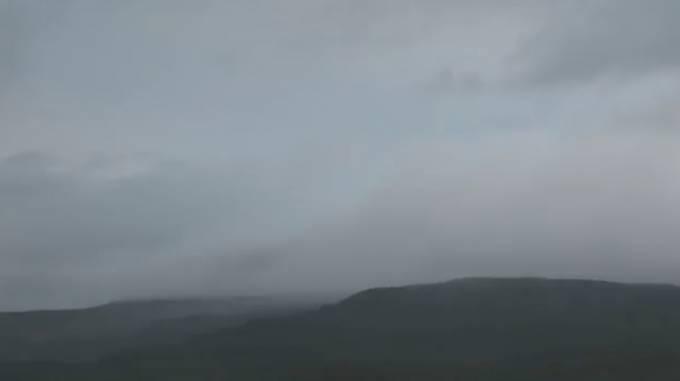 新燃岳ライブカメラ(MRT宮崎放送)と雨雲レーダー/宮崎県都城市