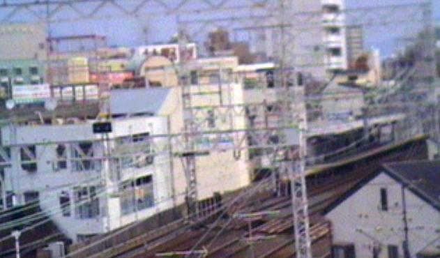 京阪千林駅ライブカメラと雨雲レーダー/大阪府大阪市