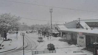 八郎潟駅 ライブカメラと気象レーダー/秋田県八郎潟町