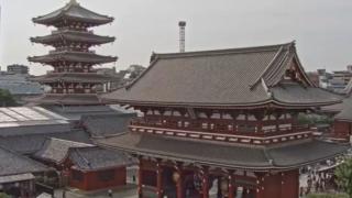 浅草寺 宝蔵門ライブカメラと雨雲レーダー/東京都浅草