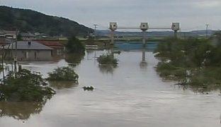 鳴子ダムと江合川ライブカメラと気象レーダー/宮城県