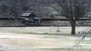 一乗谷朝倉氏遺跡ライブカメラ(2ヶ所)と雨雲レーダー/福井県福井市