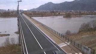 国道9号ライブカメラと気象レーダー/島根県