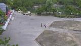 砺波チューリップ公園パノラマテラスライブカメラと気象レーダー/富山県砺波市
