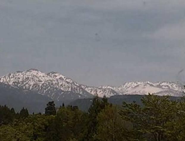 立山連峰や大日岳・雄山ライブカメラ(2ヶ所)と雨雲レーダー/富山県立山町