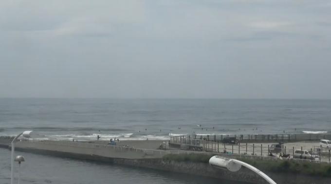 鵠沼海岸 ライブカメラ(Beach Culture)と雨雲レーダー/神奈川県藤沢市
