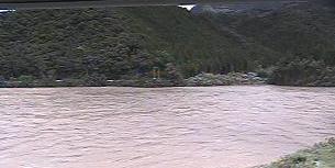 熊野川ライブカメラと雨雲レーダー/和歌山県新宮市