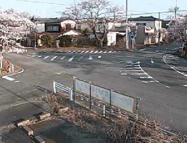 リフレとみおか前T字路ライブカメラと気象レーダー/福島県富岡町