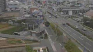 国道431号ライブカメラと雨雲レーダー/鳥取県米子市