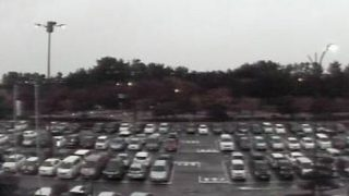 庄内空港駐車場ライブカメラと気象レーダー/山形県酒田市