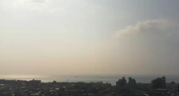 停止中:明石海峡ライブカメラと雨雲レーダー/兵庫県