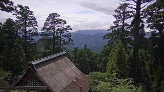 英彦山神宮ライブカメラ(4ヶ所)と雨雲レーダー/福岡県添田町