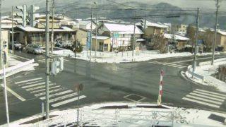 県道120号線・羽州街道ライブカメラと雨雲レーダー/山形県東根市