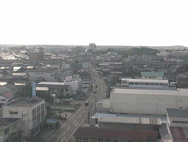 小松市消防本部周辺ライブカメラと気象レーダー/石川県小松市