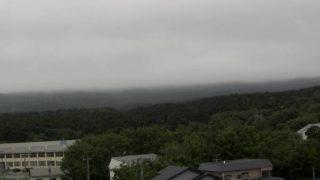 利尻山ライブカメラpt3と雨雲レーダー/北海道利尻町