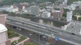 浦上川・県道112号ライブカメラと気象レーダー/長崎県長崎市