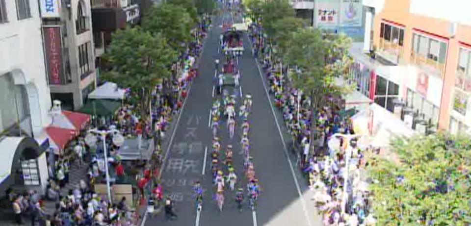 八戸三社大祭 ライブカメラと雨雲レーダー/青森県八戸市