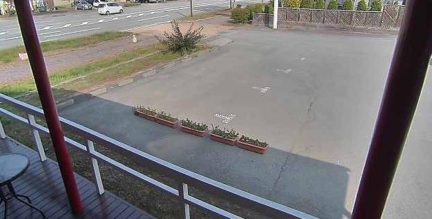 軽井沢町プリンス通りライブカメラと雨雲レーダー/長野県軽井沢町
