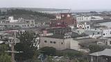 朝戸医院屋上ライブカメラと気象レーダー/鹿児島県和泊町
