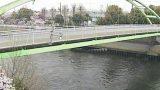 新河岸川 ライブカメラ(芝原橋)と雨雲レーダー/東京都板橋区