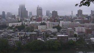 仙台市 ライブカメラ(愛宕神社から)と気象レーダー/宮城県仙台市