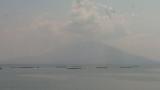 伊達酒造福山から見える桜島ライブカメラと気象レーダー/鹿児島県霧島市
