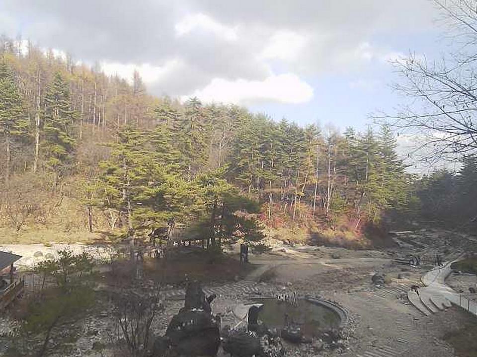 草津温泉 西の河原公園 ライブカメラと雨雲レーダー/群馬県草津町