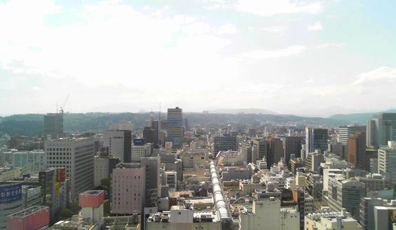 停止中:仙台七夕花火祭ライブカメラと気象レーダー/宮城県仙台市