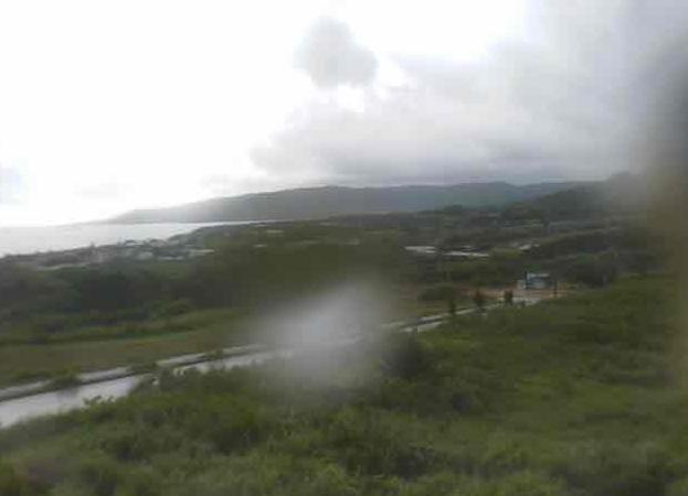 鳩間島が眺めるライブカメラと雨雲レーダー/沖縄県西表島