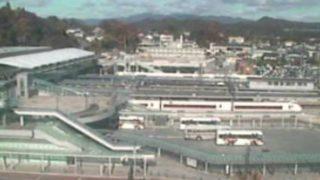 停止中:いわき駅前ライブカメラと雨雲レーダー/福島県いわき市