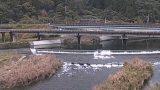 伊与木川ライブカメラと雨雲レーダー/高知県黒潮町