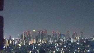 新宿高層ビル群ライブカメラと雨雲レーダー/東京都新宿区