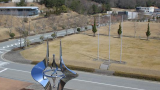 """大型放射光施設""""SPring-8""""ライブカメラと雨雲レーダー/兵庫県佐用町"""