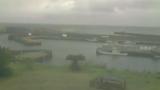阿古漁港 ライブカメラ(沖倉商店 CAFE691)と気象レーダー/東京都三宅島