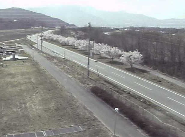 高遠浄化センター前の県道209号ライブカメラと気象レーダー/長野県伊那市