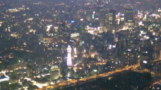 あべのハルカス周辺ライブカメラ(58階)と雨雲レーダー/大阪府大阪市