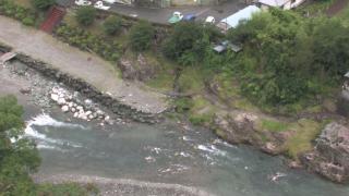 神流川ライブカメラと雨雲レーダー/群馬県多野郡神流町