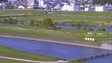 直方河川敷ライブカメラ2と雨雲レーダー/福岡県直方市